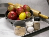Prep tray for apple pie