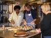 World Kitchen students making popovers